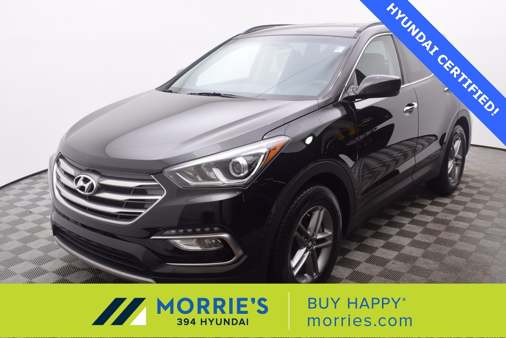 Certified Pre-Owned 2017 Hyundai Santa Fe Sport 2.4 Base